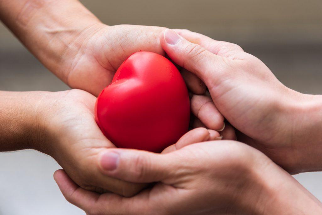 charity spreading love
