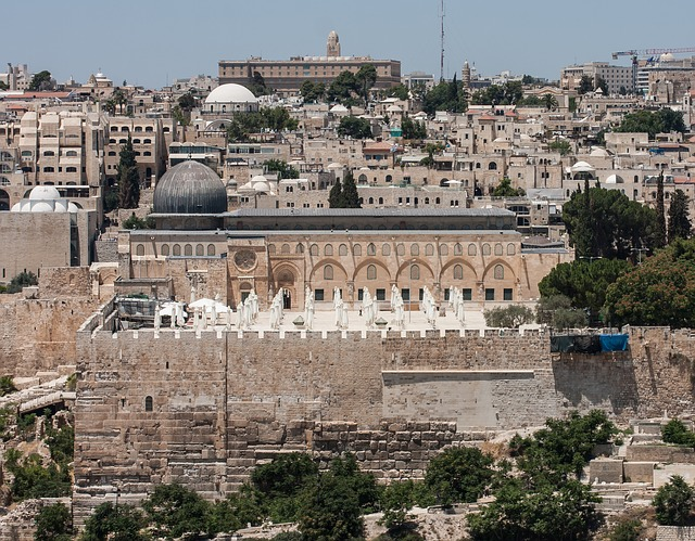 al aqsa mosque in the Holy land