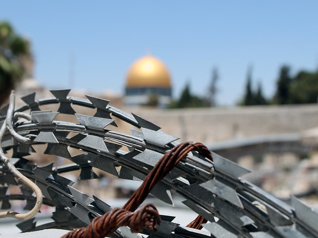 restrictions in the Holy land