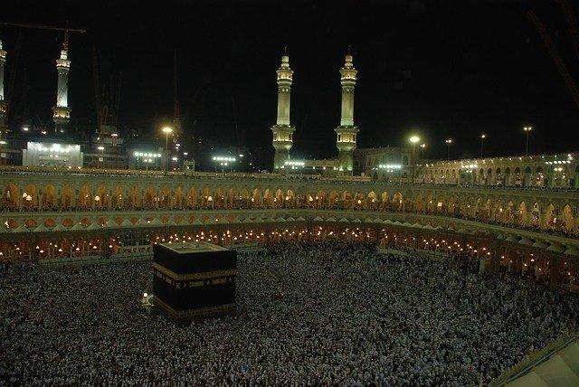 Hajj pilgrimage to the Kaaba in Makkah, Saudi Arabia - quran verses and hadith