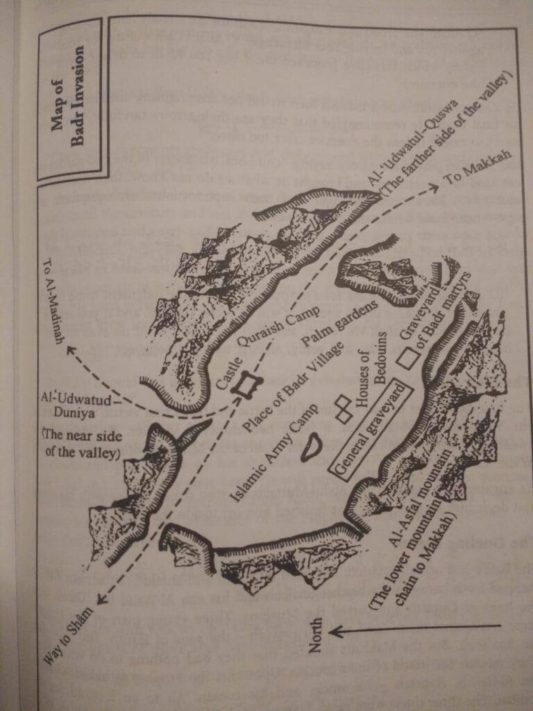 Battle of Badr map