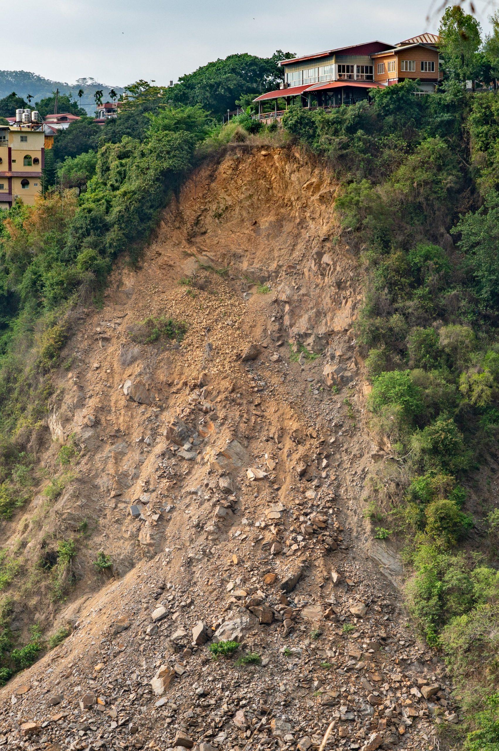 image of landslides